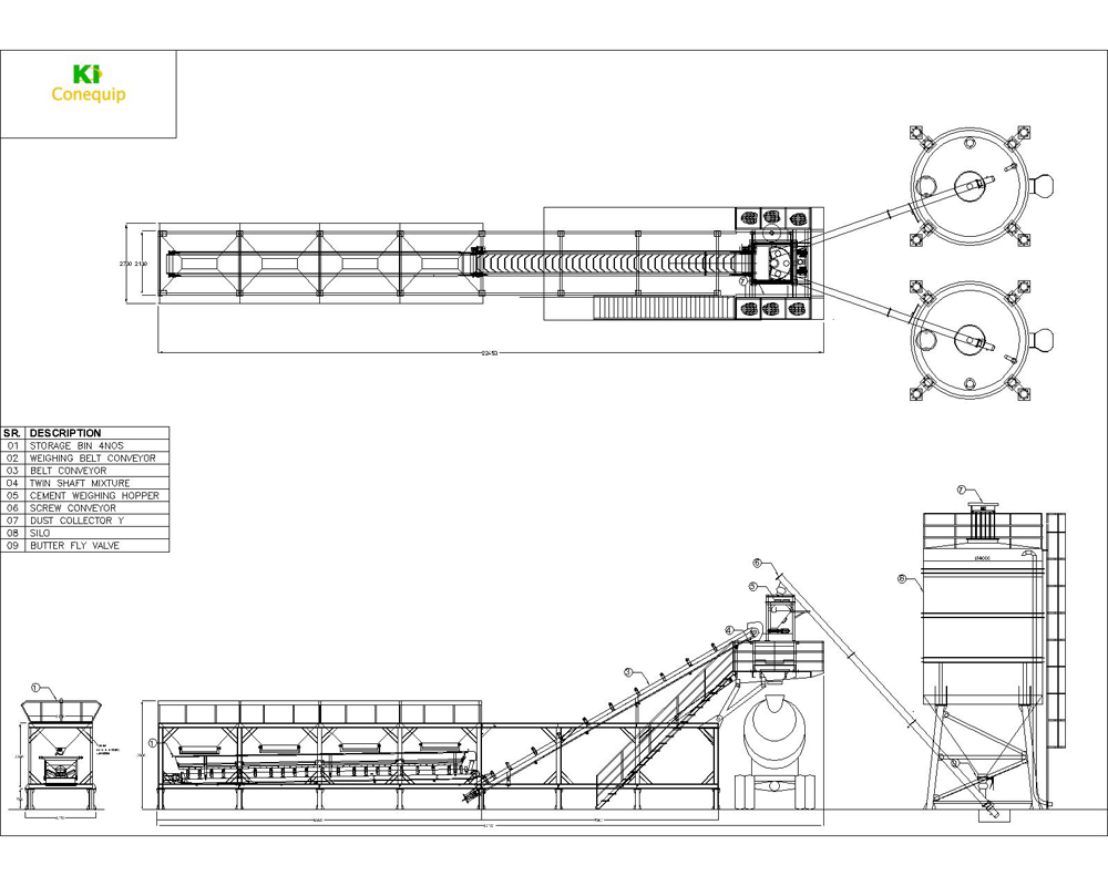 concrete batching plant manufacturer and exporter